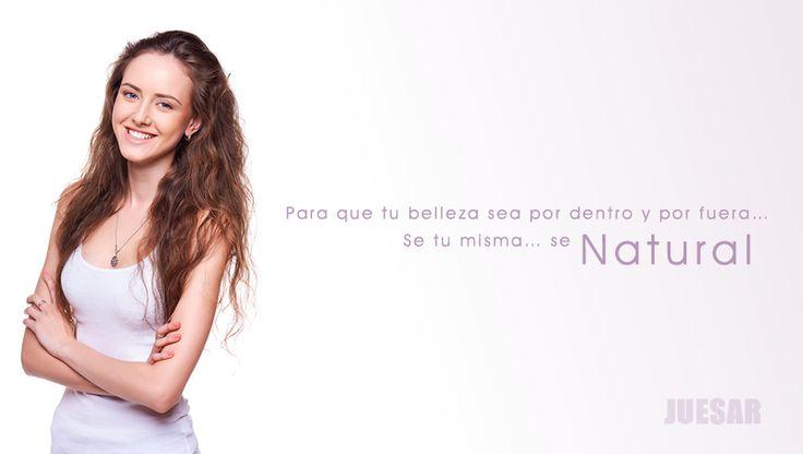 y tu eres una mujer Juesar? Juesar Cuidado Diario te ofrece los mejores productos para ser una mujer natural.