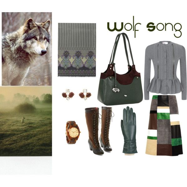 """wolf song"" by mirra-morgenstern on Polyvore"