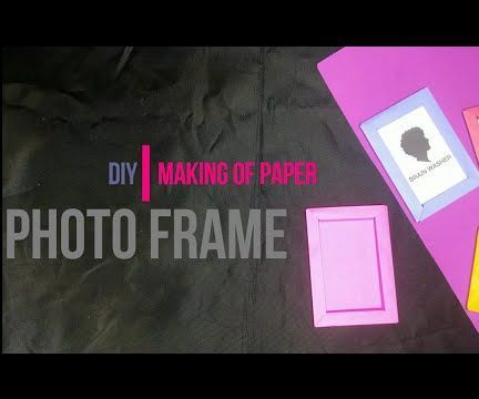 Making of Paper Photo Frame [DIY] by Brain Washer