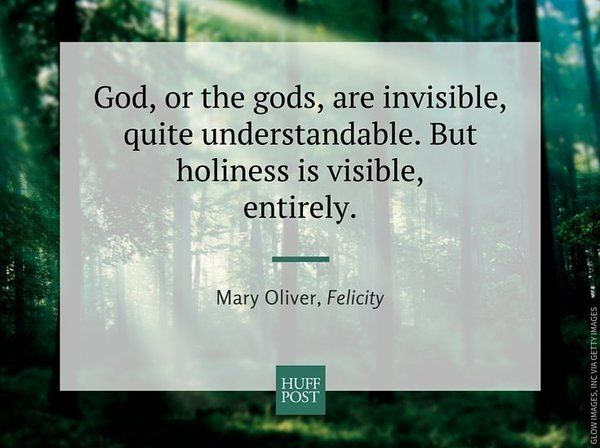 7 Deeply Spiritual Moments In Mary Oliver's New Book Of Poems