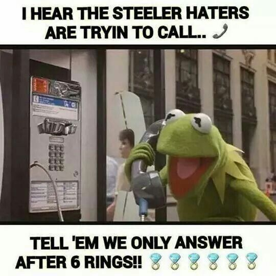 Pittsburgh Steelers , only six time SuperBowl Champions !!!!!!                                                                                                                                                      More