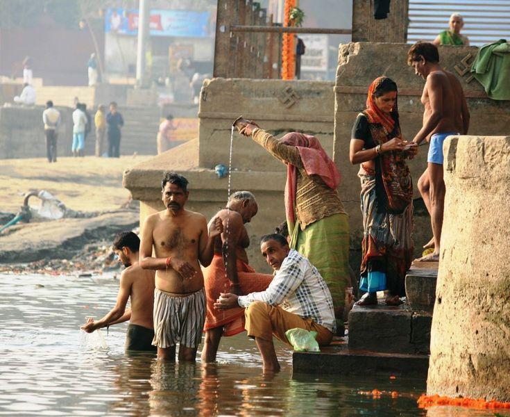 Varanasi Ghats by Gen Ford