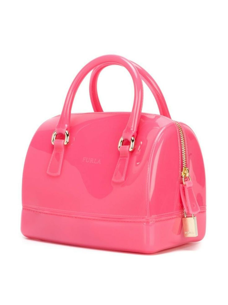 Furla Small Tote Bag  (fuschia pink) farfetch.com