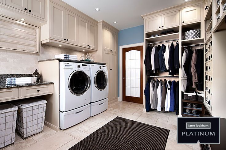 Platinum Series laundry. Jane Lockhart Interior Design