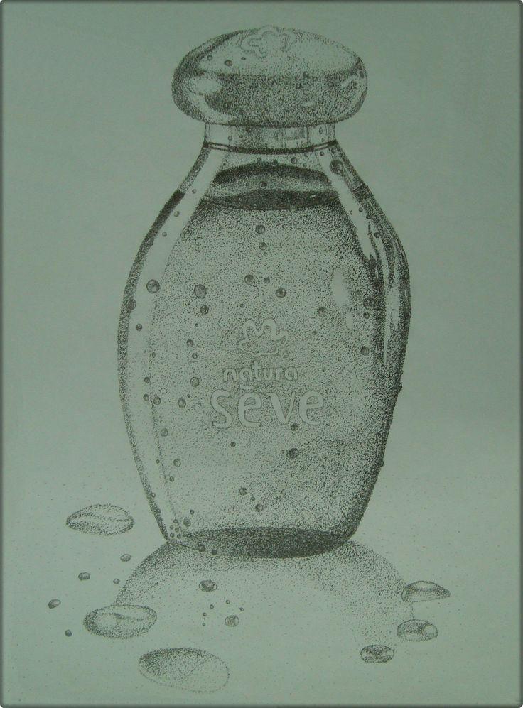Ilustração- Sève Natura feita em pontilhismo- Trabalho do 1º Ano de Faculdade (2010) na disciplina de Metodologia Visual com o Profº Me. Rodrigo Spinosa.