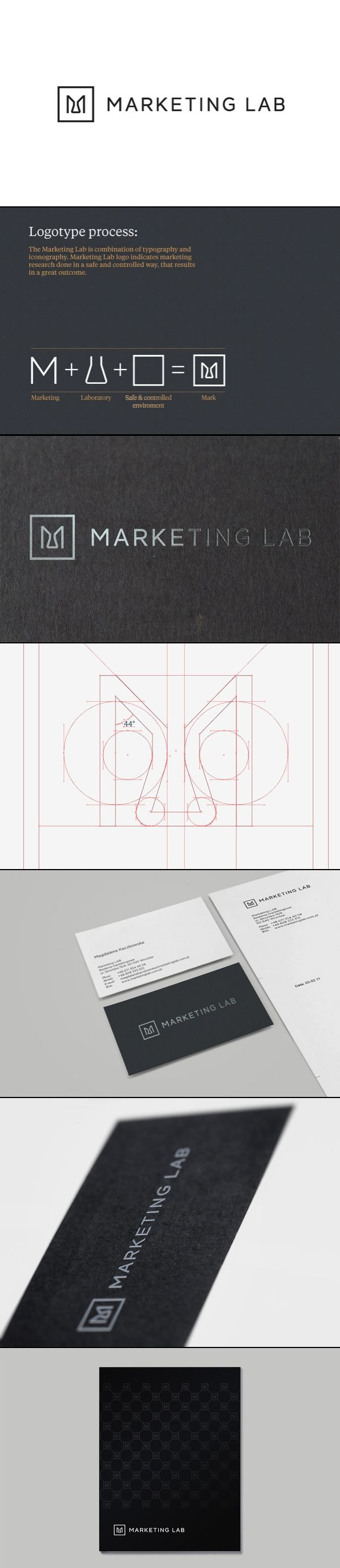 Marketing Lab | #corporate #branding #creative #logo #personalized #identity #design #corporatedesign < repinned by www.BlickeDeeler.de | Have a look on www.LogoGestaltung-Hamburg.de