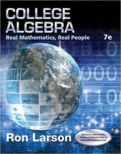Pdf 7th students edition college algebra for