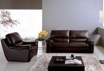 Canapés 3 places + 2 places Max Divani - En tissus - Couleur : gris (Home Center)