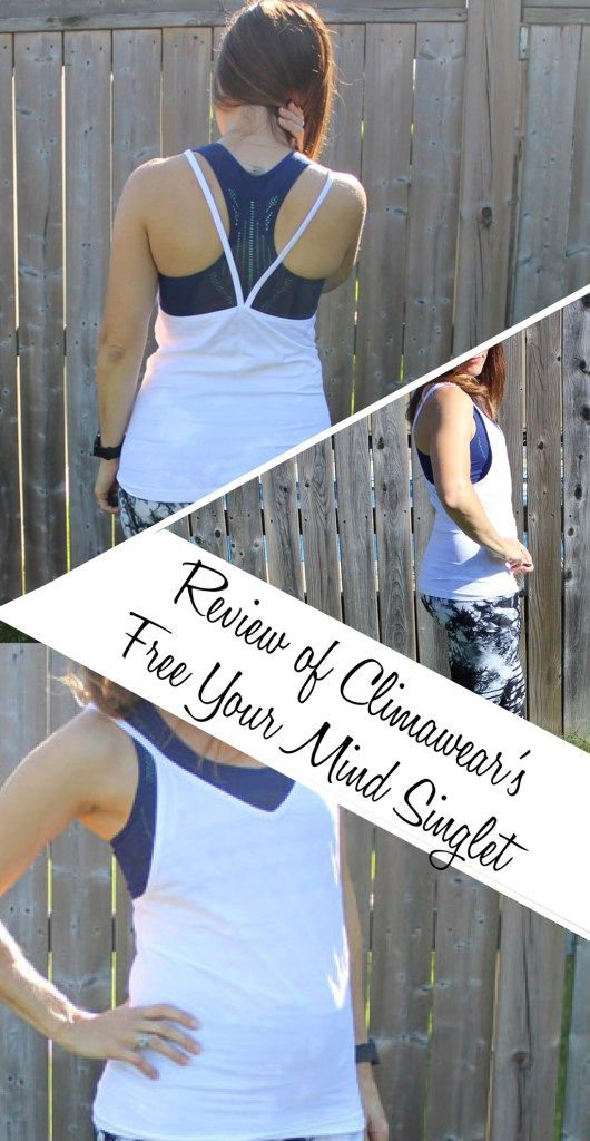 Review of Climawear's Free Your Mind Singlet | Running Fashion | Affordable Running Gear |