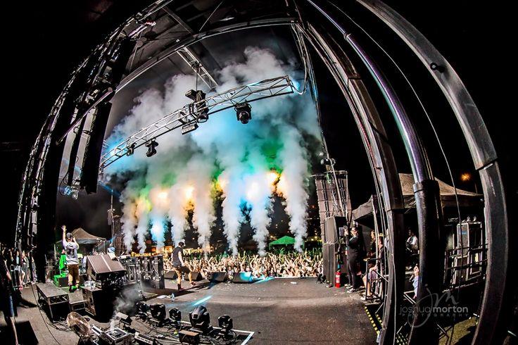 Sprung Hip Hop Festival Brisbane 2013 360 Stage