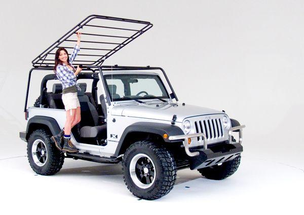 Wild Boar JK Jeep Rack for 2 door Jeeps 2007-2014