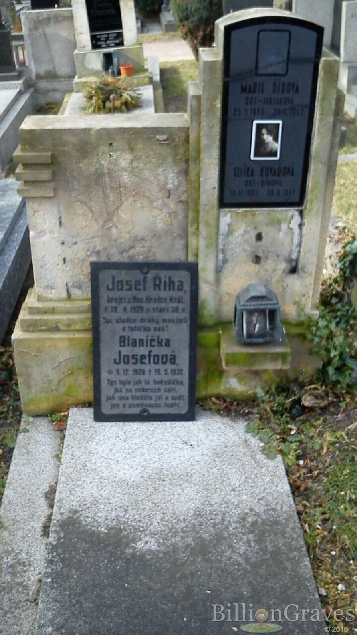 Headstone image of Eliška Kovářová (Říhová)