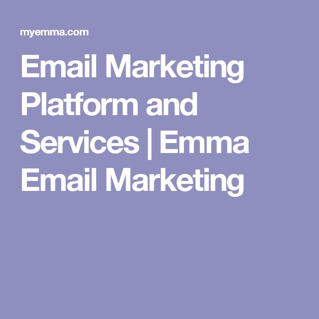 Email Marketing Platform and Services | Emma Email Marketing