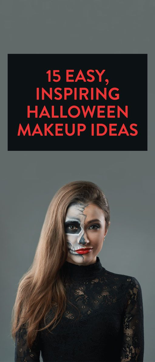 15 Easy, Inspiring Halloween Makeup Ideas