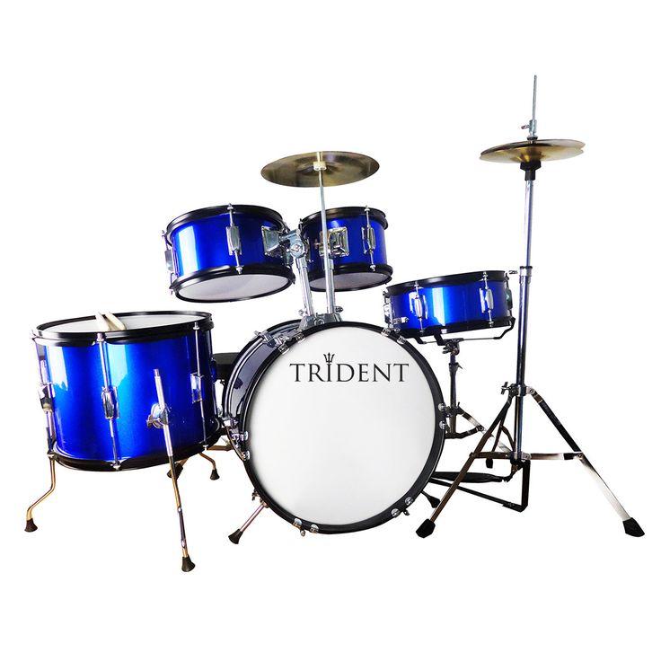 Trident Kids 5 pcs Drum Set