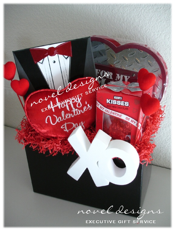 Custom For My Man Gift Basket Valentines Day Gift Baskets Gift