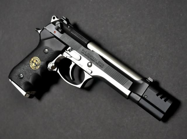 m9 beretta custom with muzzle break sidearm madness pinterest 10 samurai and pain d 39 epices. Black Bedroom Furniture Sets. Home Design Ideas