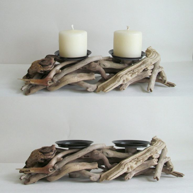 best 25 driftwood candle holders ideas on pinterest