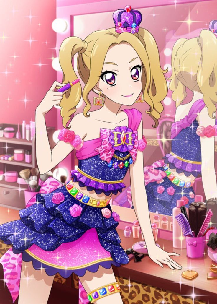 Anime Girl Wallpaper With Names 1555 Best Aikatsu Images On Pinterest