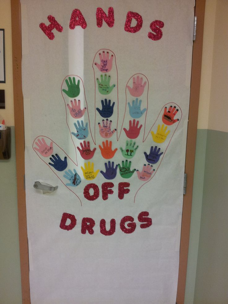 Find this Pin and more on Red Ribbon Week Door Decorating Ideas.