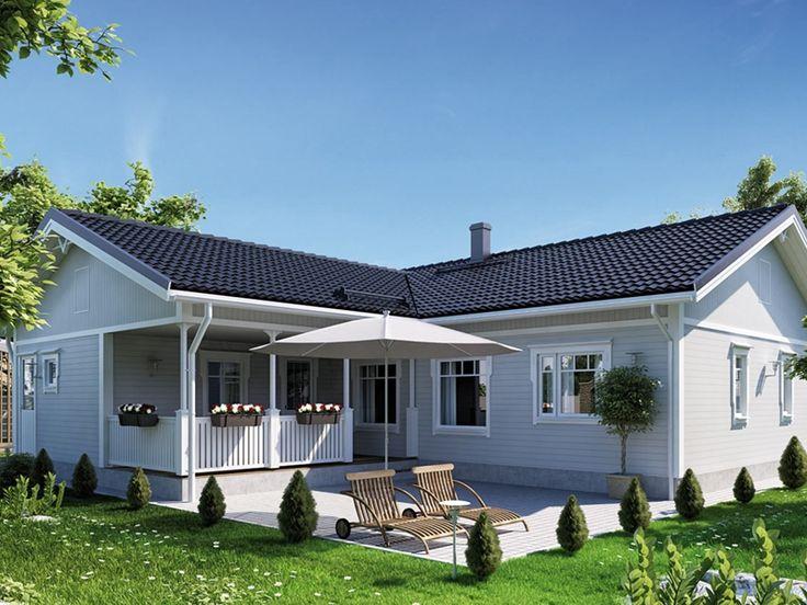Prezzo incluso: Pareti esterne isolate Pareti interne Costruzioni struttura tetto Finestre e porte della terrazza