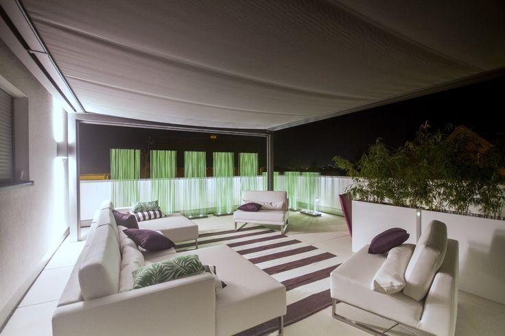 Terrassengestaltung- Sichtschutz- Beleuchtung- Loungemöbel- Terrassenüberdachung