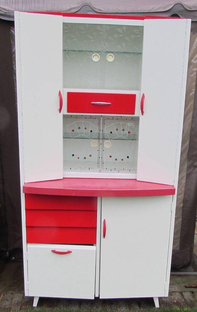 1950S/1960S VINTAGE,RETRO KITCHEN LARDER,PANTRY,CUPBOARD,CABINET. in Antiques, Antique Furniture, Cabinets | eBay