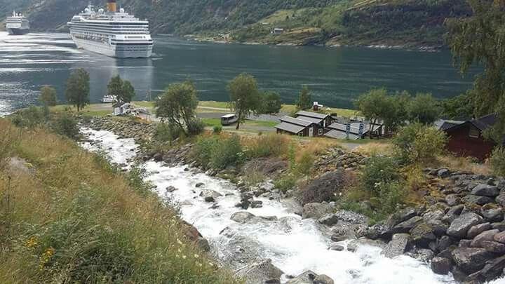 Geiranger fyord, Norway