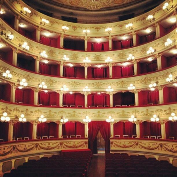 Marrucino Theater, Chieti. Photo by Valentina B #abruzzo #landscape #italy #italia #mountains #landscape #travel #italy #italia #mountain #montagne #apennines #appennini #chieti #adriatico #adriatic_sea #marrucino_teatro