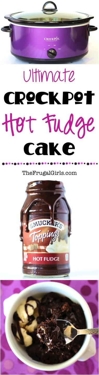 Crockpot Hot Fudge Cake Recipe! ~ from TheFrugalGirls.com ~ go grab your Slow Cooker and get ready for the one of the most delicious dessert recipes ever! It's SO easy!