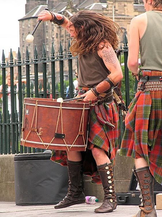Scots...he really is a man :-) :-)