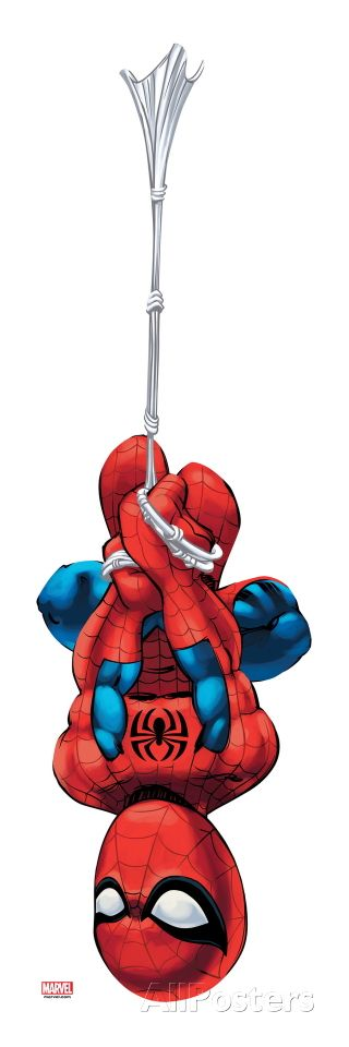 Marvel Super Hero Squad: Spider-Man Swinging Art Print at AllPosters.com