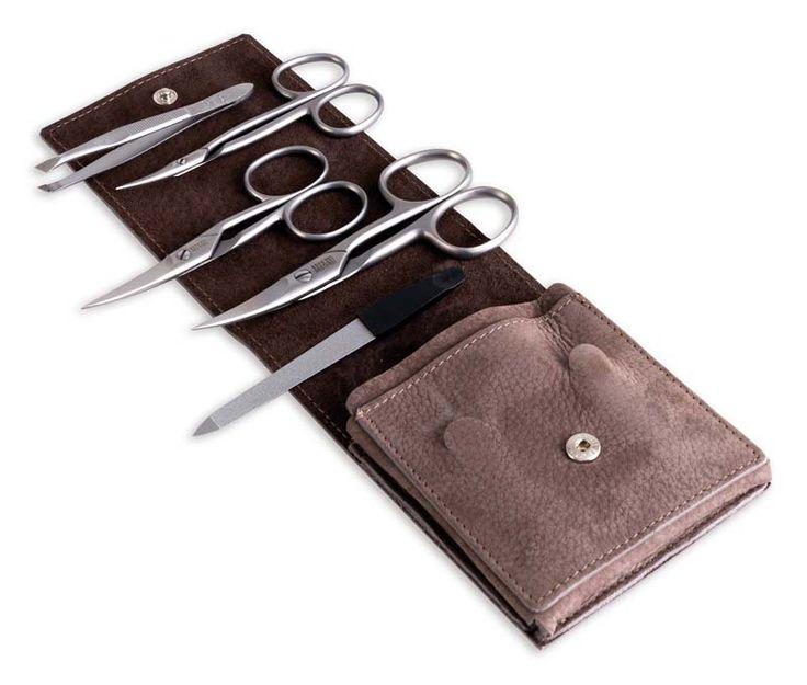 Маникюрный набор Dоvo 19874 руб. из 5-ти предметов, серо-коричневый купить по лучшей цене с бесплатной доставкой по Москве, Санкт-Петербургу и России