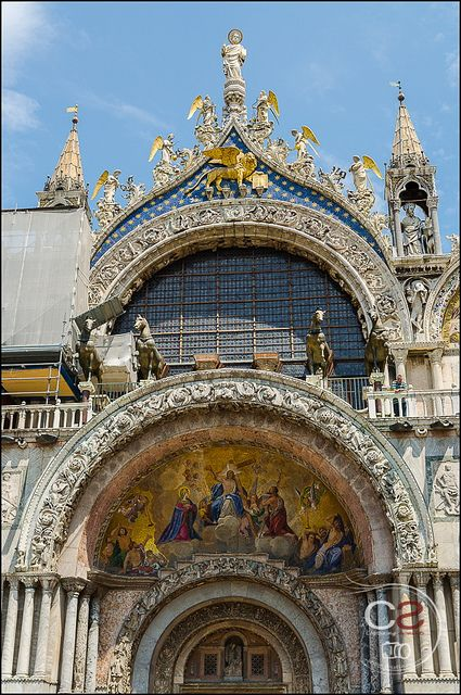Saint Mark's Basilica entrance