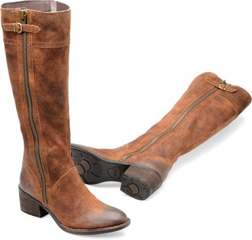 Born Poly in Tobacco Distressed - Born Womens Boots on Bornshoes.com