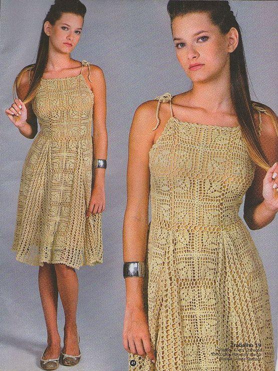 MADE TO ORDER  summer crochet dress  RI29