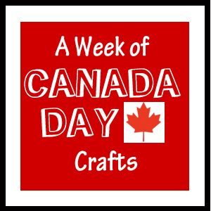a week of Canada Day themed crafts -perfect - vixenMade: FPF: Canada Week Wrapup