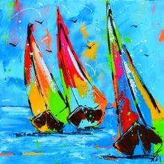 vrolijke schilderijen liz