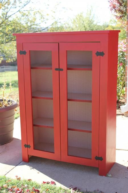 Mom's Jelly Cabinet | Do It Yourself Home Projects from Ana White