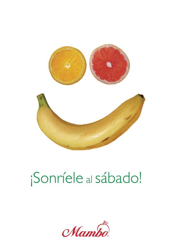Sonríele al sábado Frutas y verduras Mambo www.mambo.com.co Cartagena de Indias - Colombia