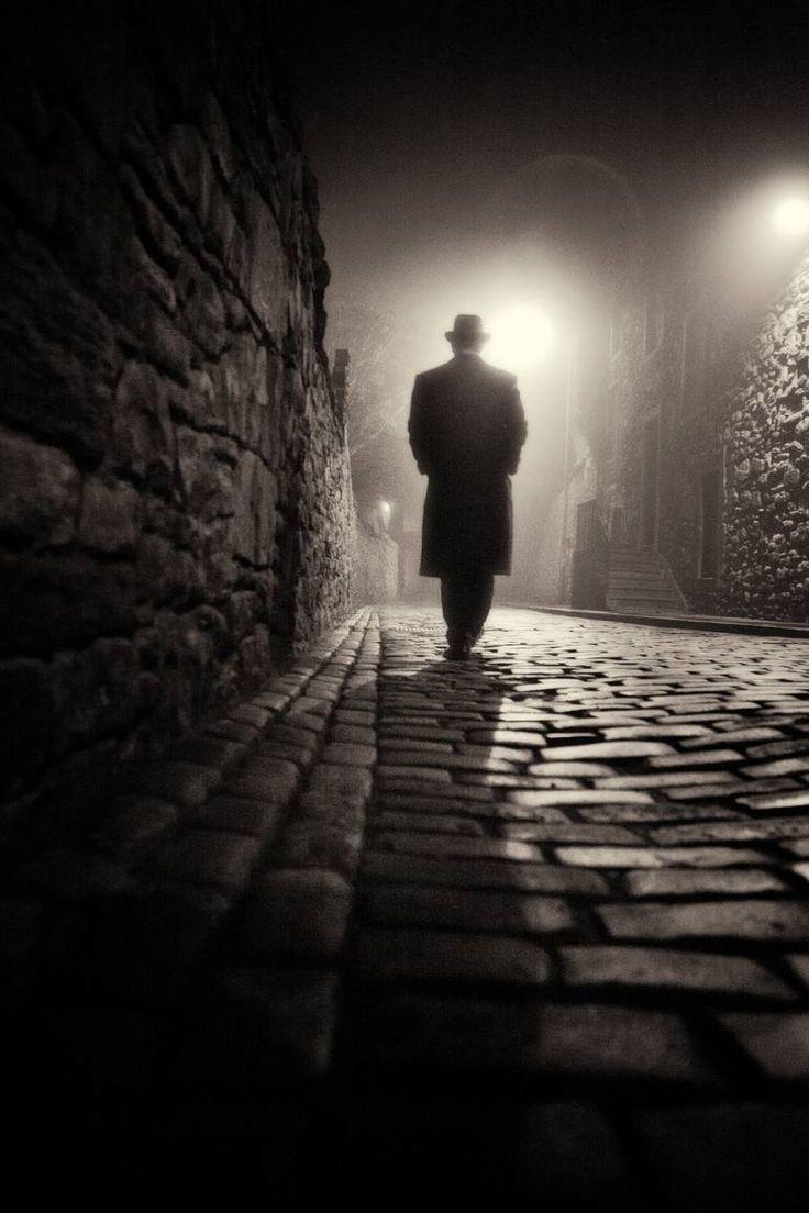 wandering alone at night - 736×1104