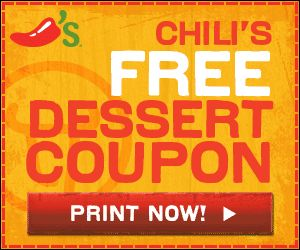 New Chili's Coupon - Free Dessert! - http://www.livingrichwithcoupons.com/2013/01/new-chilis-coupon-free-dessert.html
