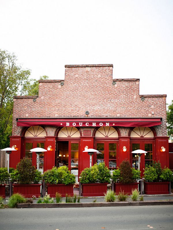 Yountville - If you cannot get in or afford French Laundry, do yourself a favor and go to Bouchon in the same town!!