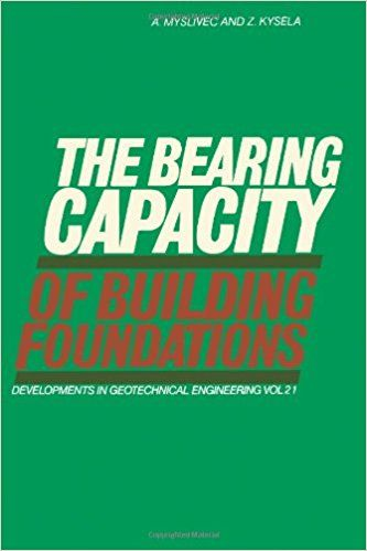 The Bearing Capacity of Building Foundations