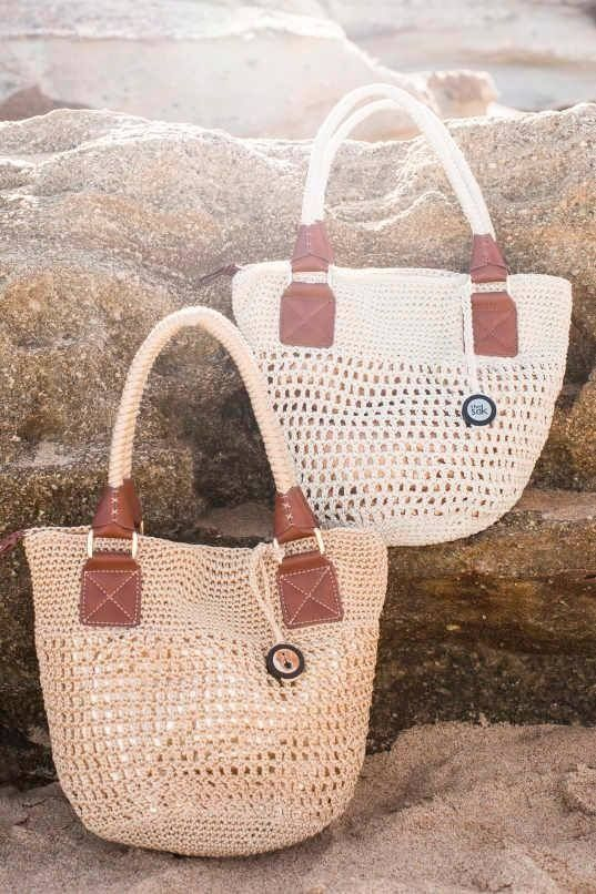 The Sak San Francisco Crochet Tote Bag from Boho Chic Boutique, 1/111 Lawrence Hargrave Drive, Stanwell Park, NSW ph 0242943111