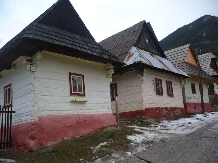 Slovakia Vlkolinec #eurotrip #history