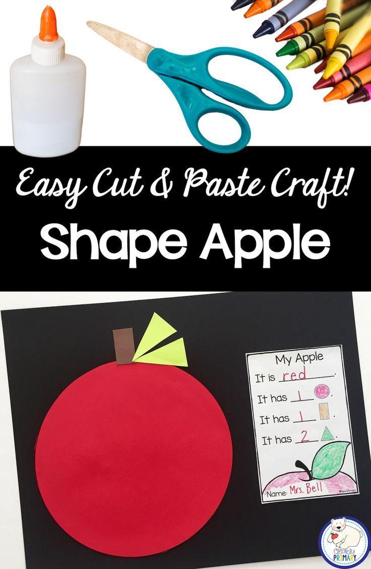 Preschool Apple Crafts Pinterest