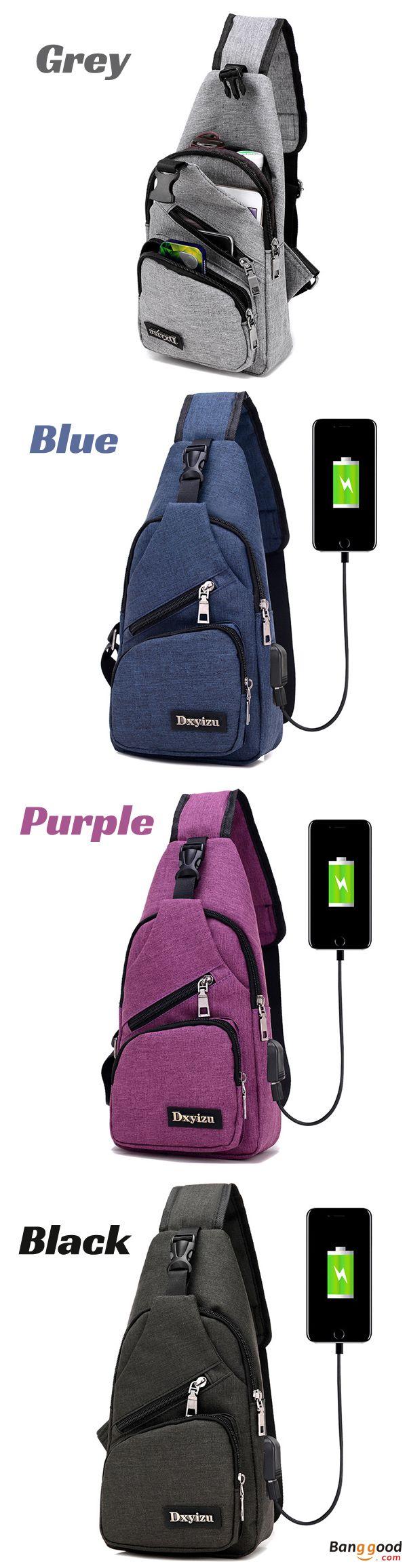 US$18.99 ~ 21.99 + Free shipping. Men Bag, Dacron Bag, Shoulder Bag, Chest Bag, Hiking Bag, USB Bag, Bag with USB Port. Color: Black, Blue, Grey, Violet. Material: Dacron. High Quality yet Low Price.