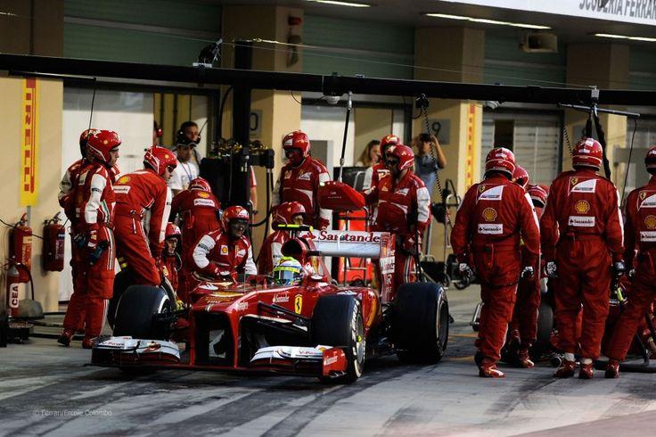Felipe Massa, Ferrari, Yas Marina, 2013
