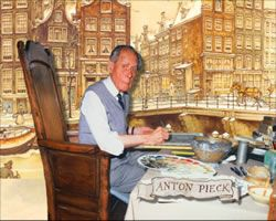 Dutch illustrator Anton Pieck